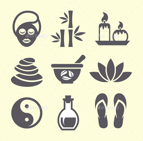 Editable Spa Icon