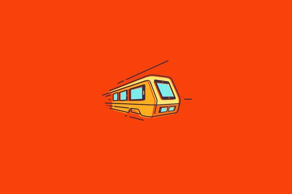 FAst gadget Train Logo