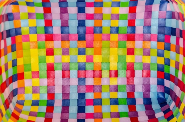 Fabric Multicolor Geometrical background