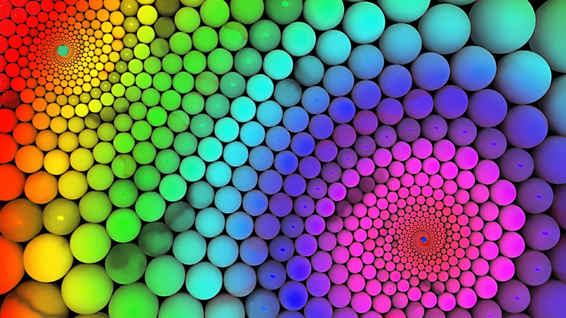 Fabulous Multicolor Bubbles background