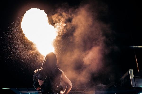 Fire Explosion Smoke Photography