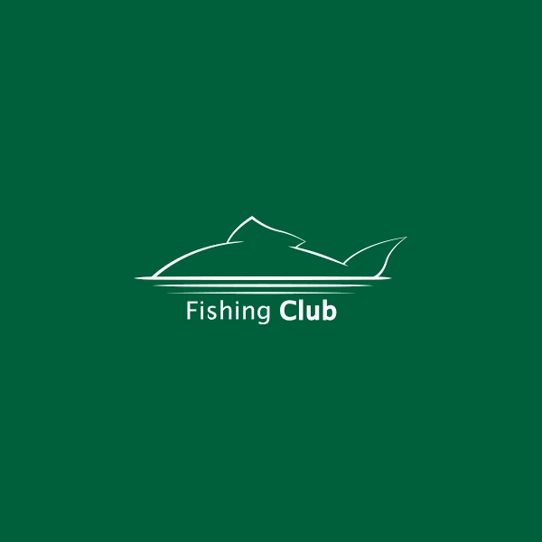 Fishing Restaurent Club Logo