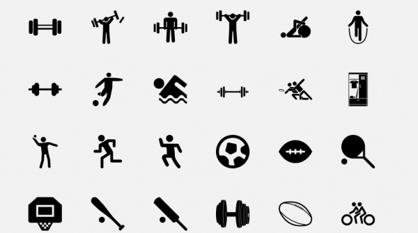 Fitness Icons For Desktop