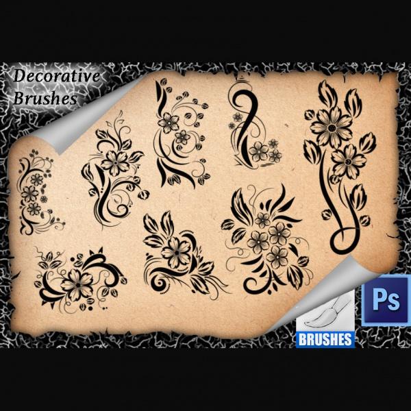 Flourish Decorative Brushes
