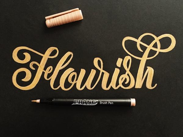 Flourish Friday Brush