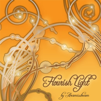 Flourish Light Brushes