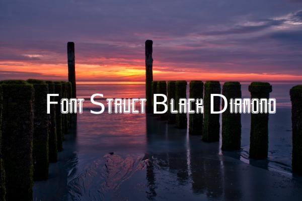 font-struct-black-diamond