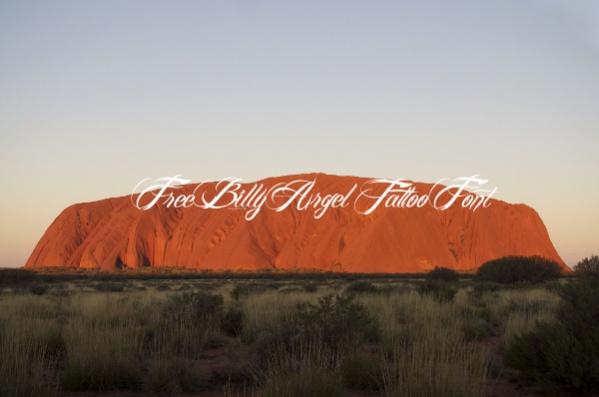 Free Billy Argel Tattoo Font