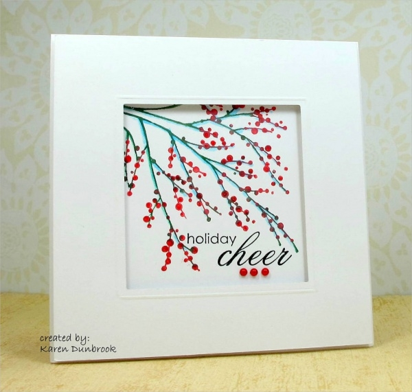 Free Colorful Christmas Frame