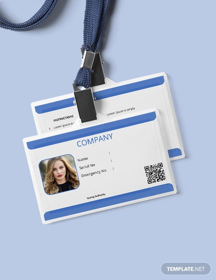 Free 35 Id Card Designs In Psd Vector Eps Ms Word Apple