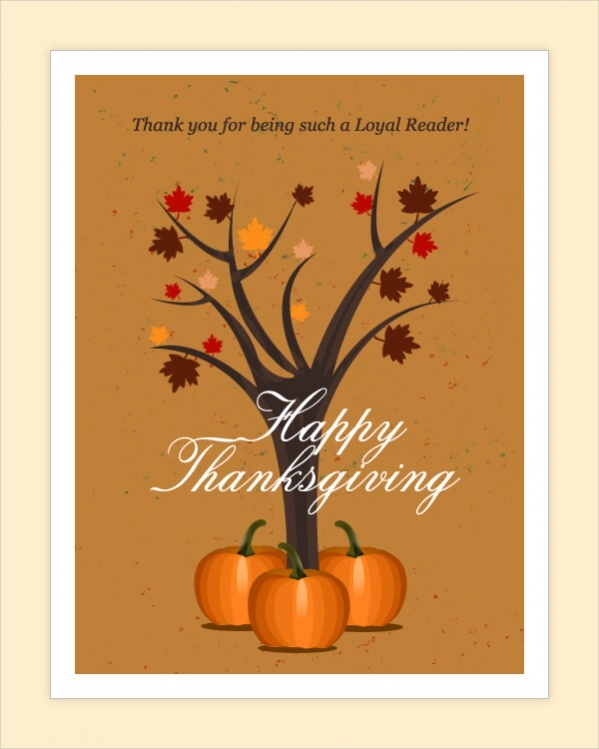 Free Thanksgiving Greeting Card