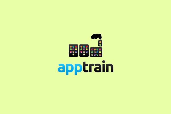 Game Application Train Logo