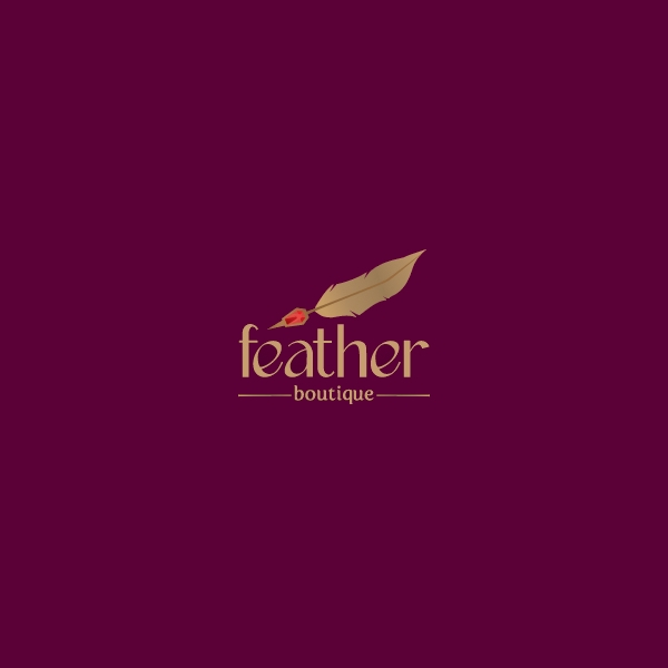Golden Feather Boutique Logo