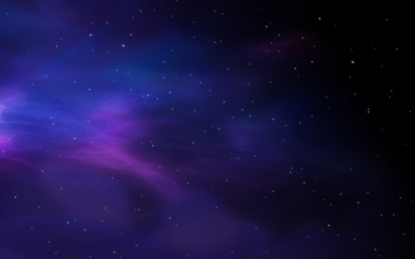 Gradient Space Stars Background