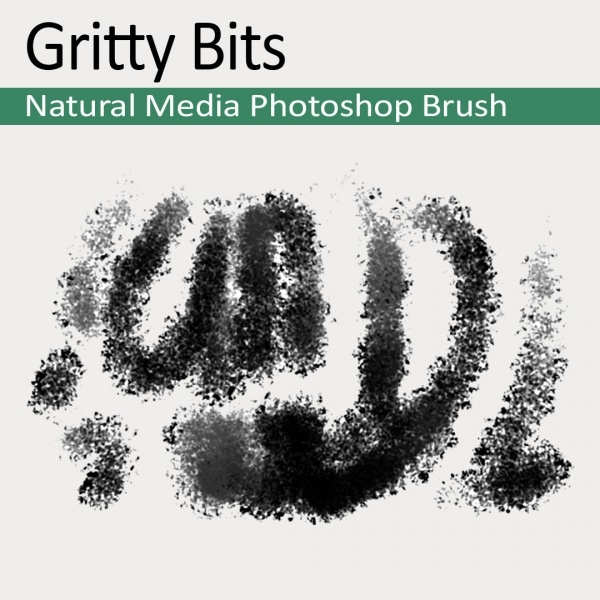 Gritty Bits Natural brushes