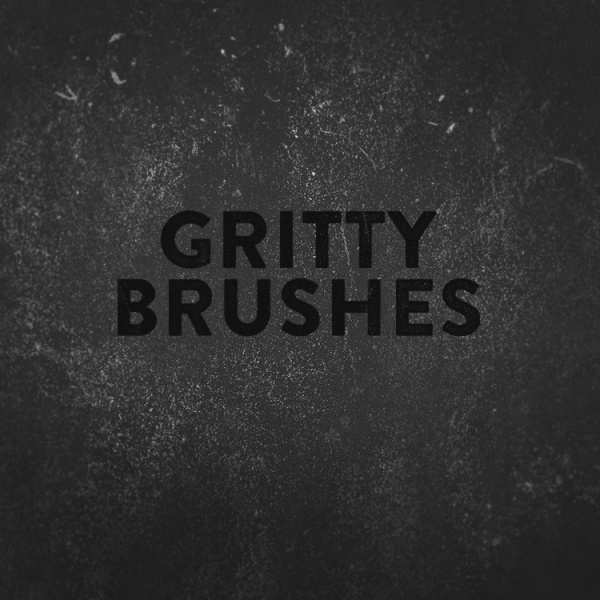 Gritty & Dirty Photoshop Brushes
