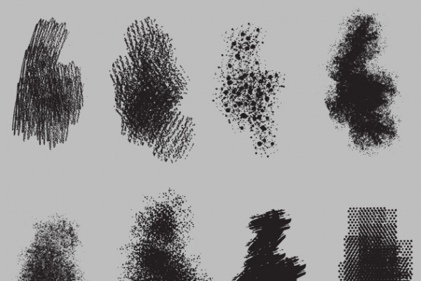 Gritty Vector Brush Pack