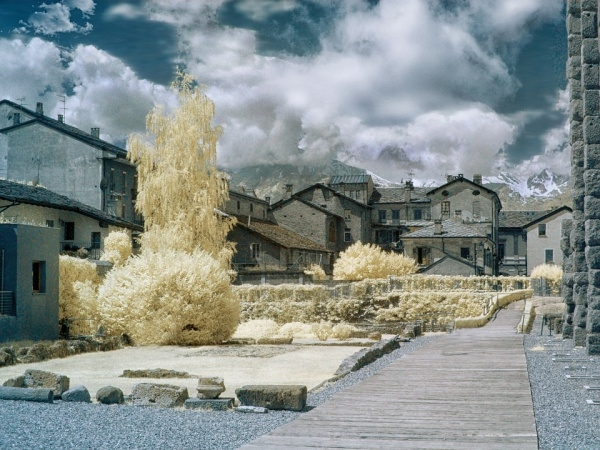 Infrared Mountain Photography
