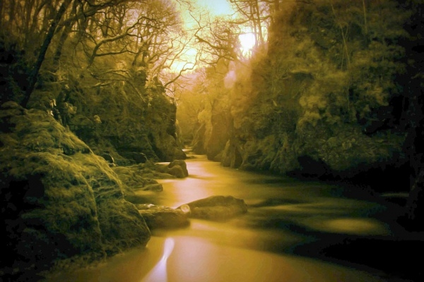 Infrared Water Landscape Photography