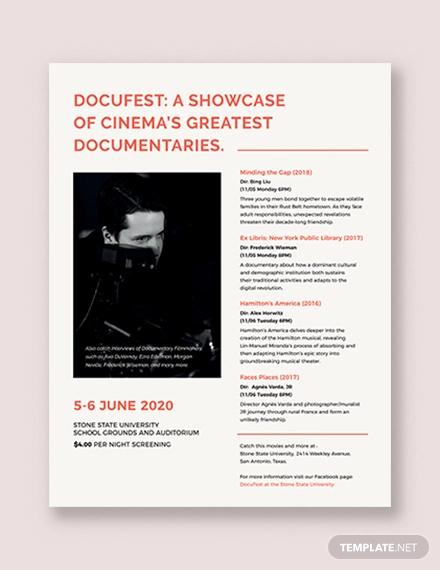 leaflet flyer template