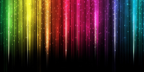 Multicolor Twitter Background