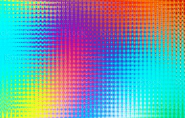 Multicolored Lined Pattern Background