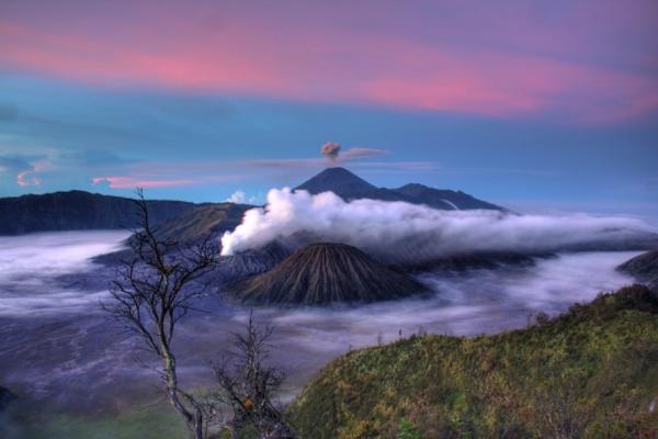 Natural volcanoes Smoke Photography