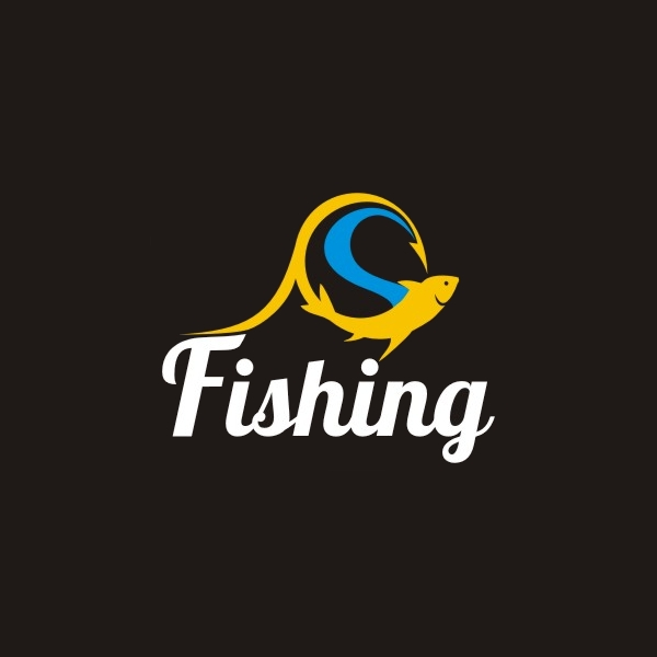 Ocean Hook Fishing Logo