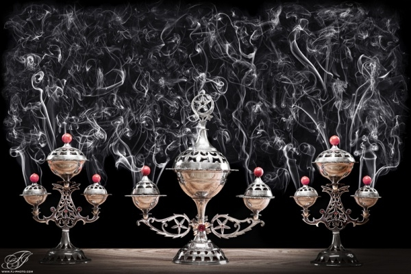 Perfumed Arab Smoke Photography