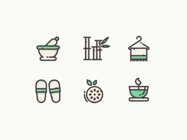 Personal Spa icons
