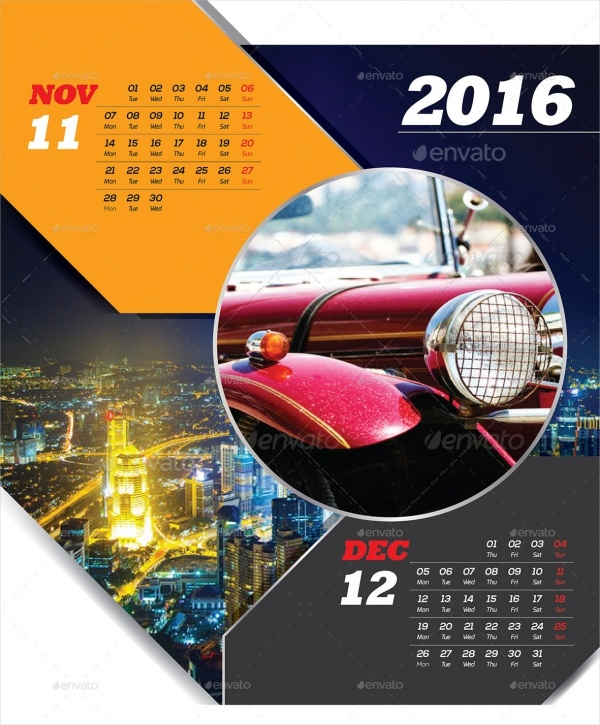 Promotional Wall Calendar Template11