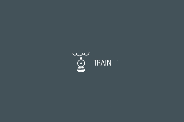 Public transport Train Logo
