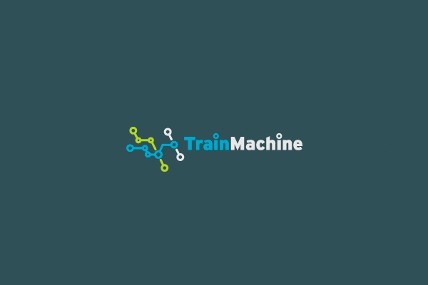 Rail Map Train Logo
