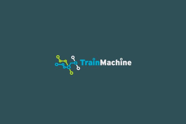 Rail Map Train Logo