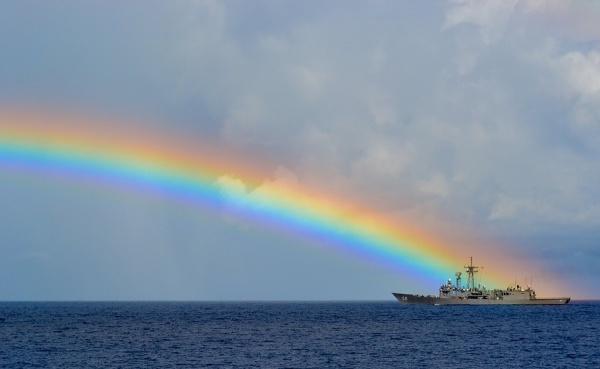 Rainbow Sky Sailors Photography