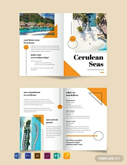 14  resort brochures