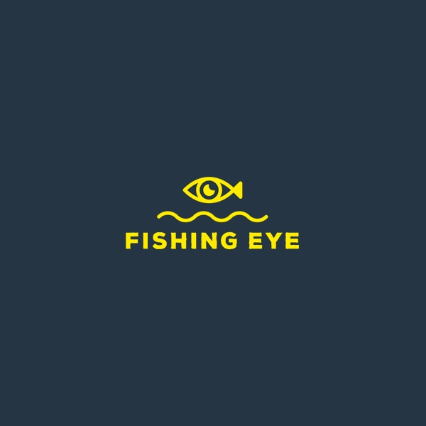 River Fishing Eye Logo