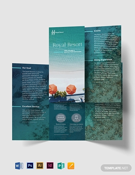 31  resort brochures