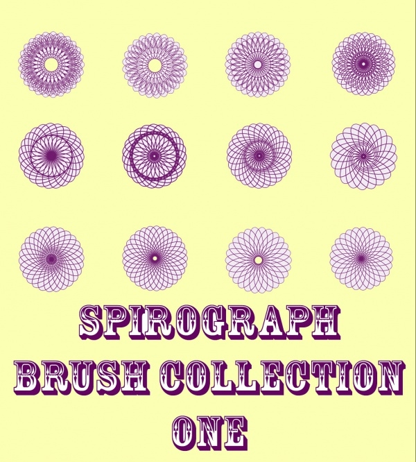 Spirograph Brush Collection