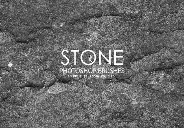 Stone Photoshop Brushes