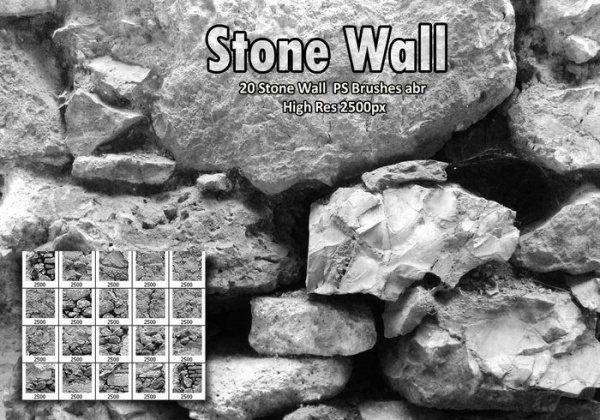 Stone Wall PS Brushes