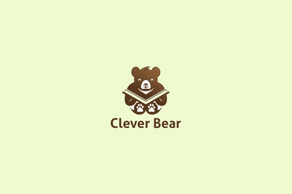 Stunning Clever BearLogo