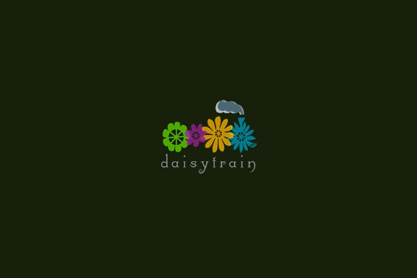 Stunning Daisy Train logo