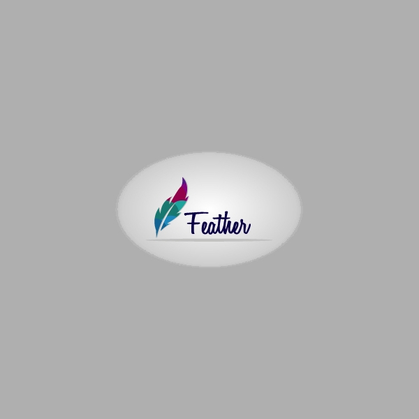 Stunning Feather Logo Design