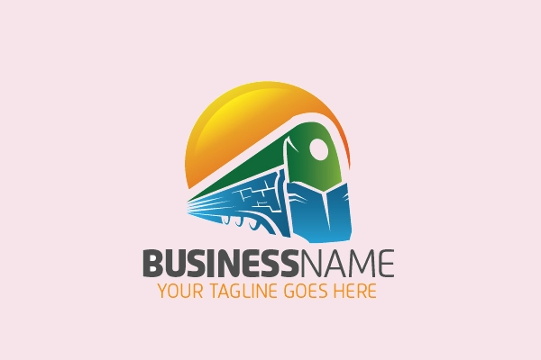 Train Business Company Logo