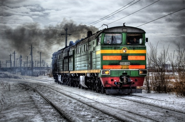 Train Traffic Smoke Photography