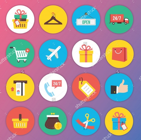Trendy Icons for Web And Mobile