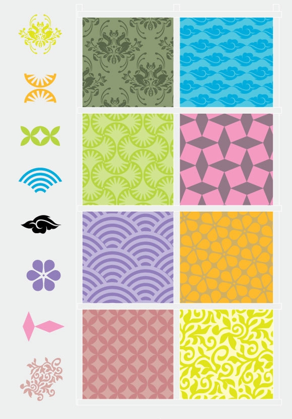 Vector Decorative Pattern Elements