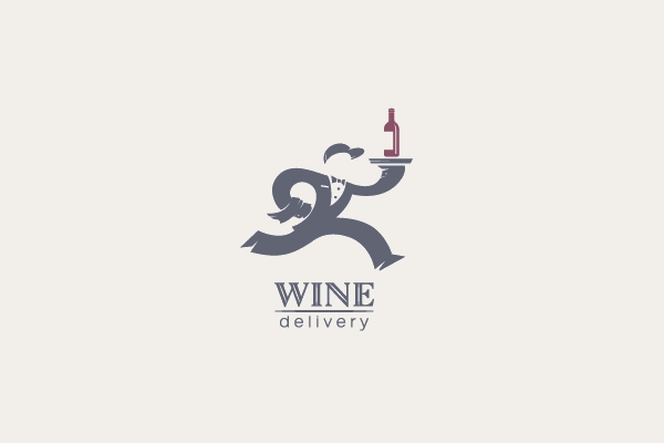 Waiter Alcohol Delivery Logo