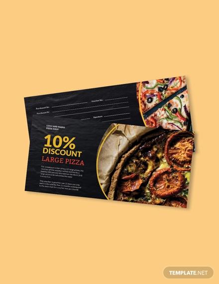 pizza shop voucher